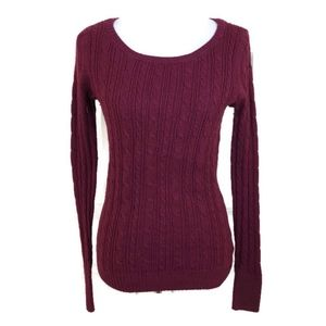 American Eagle Outfitters Women's Burgundy Scoop